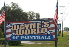 Waynes World of Paintball in Ocala Florida
